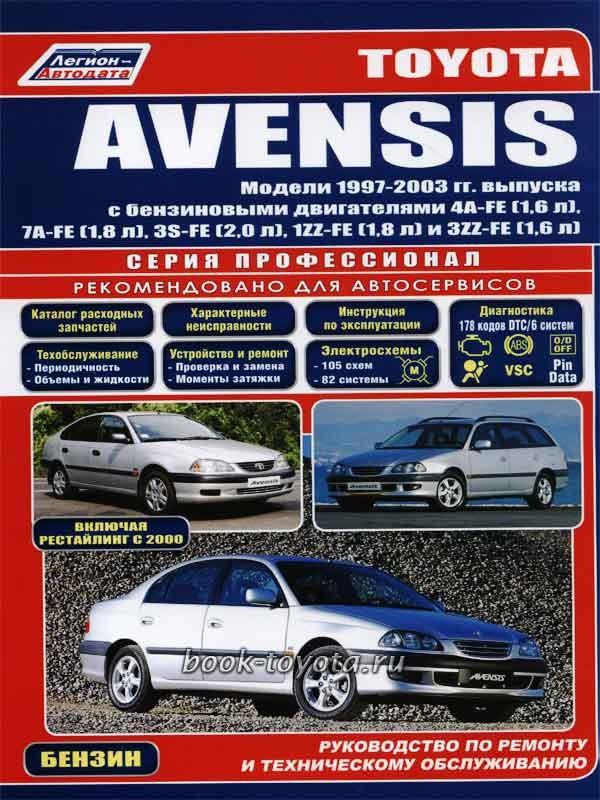 Toyota Avensis 2003 руководство - фото 6