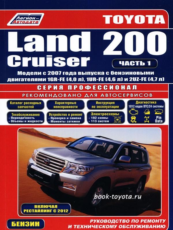 Руководство Для Владельца Тойота Лэнд Крузер 200 - фото 4