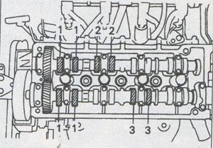 Intake valves Toyota Corolla 1997