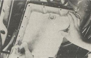 Fluid in pan Toyota 4-Runner 1979 Haynes