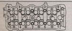 болт блока цилиндров Toyota Mark II, болт блока цилиндров Toyota Chaser, болт блока цилиндров Toyota Cresta