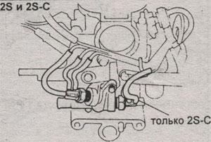 Болт клипсы вакуумного насоса Toyota Camry