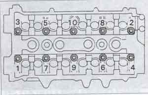 болты головки цилиндров Toyota Avensis