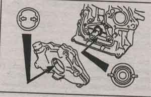 масляный насос Toyota Caldina