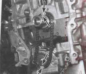 цепь масляного насоса Toyota Camry