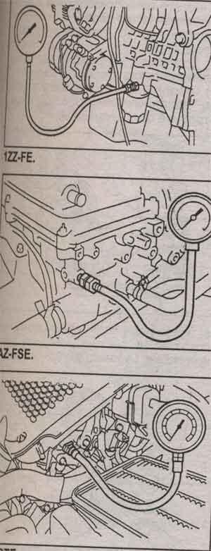датчик давления масла Toyota Caldina