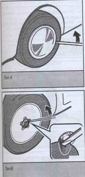 декоративный колпак Toyota RAV4