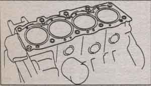 головка блока цилиндров Toyota Mark II, головка блока цилиндров Toyota Chaser, головка блока цилиндров Toyota Cresta