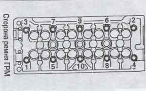 головка цилиндров Toyota Avensis
