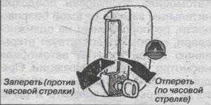 кнопка фиксации Toyota Granvia