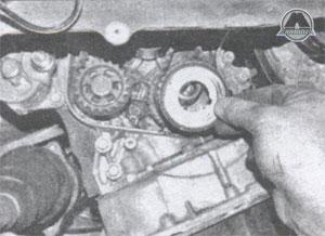 край коленвала ГРМ Toyota Corolla