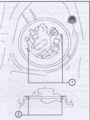 крепёжная деталь Toyota Prius