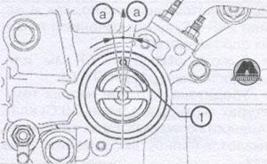 крепление клапана Toyota Camry