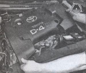 крышка двигателя Toyota Corolla