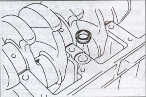 крышка подшипников Toyota Land Cruiser 100, крышка подшипников Toyota Land Cruiser 105