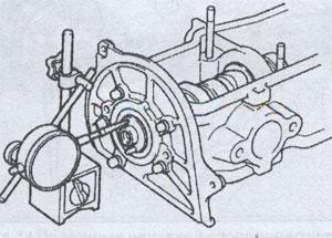 люфт распредвала Toyota Celica