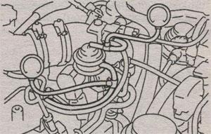 проверка давления воздуха Toyota Crown