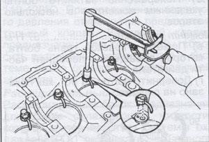 масляные форсунки Toyota Land Cruiser 100, масляные форсунки Toyota Land Cruiser 105