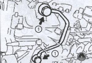 масляная трубка Toyota Venza