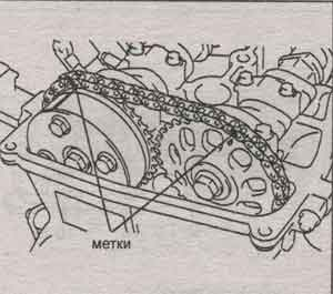 натяжитель цепи Toyota RAV4