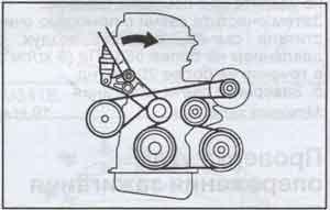 ролики натяжителя ремня Toyota Avensis