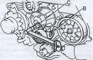 натяжная пружина Toyota Land Cruiser Prado 70