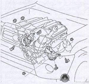опора движения Toyota Fortuner, опора движения Toyota Hilux, опора движения Toyota Vigo