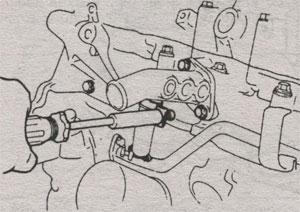 Патрубок Toyota Camry