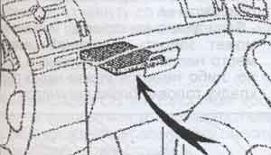 перчаточный ящик Toyota Avensis