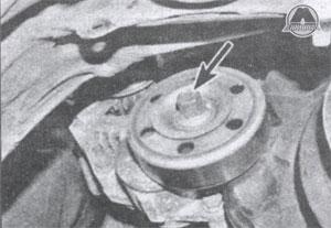 передняя часть коленвала Toyota Corolla