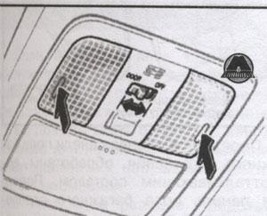 подсветка багажника Toyota RAV4