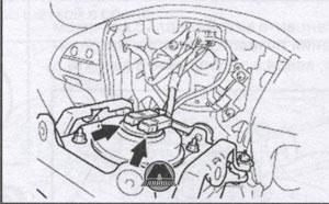 подушка безопасности Toyota Camry