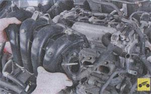 проверка электропневмоклапана Toyota Corolla, проверка электропневмоклапана Toyota Auris