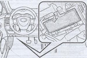 расположение предохранителей автомобиля Toyota Corolla, расположение предохранителей автомобиля Toyota Auris