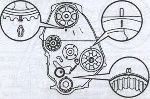 ремень привода ГРМ Toyota Land Cruiser Prado 70