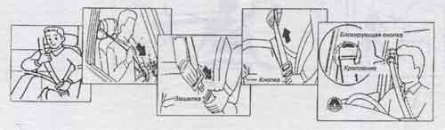 ремни безопасности Toyota Soarer