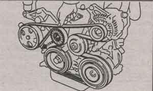 ролик навесного агрегата Toyota Celica
