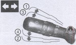 рычаг управления поворотов Toyota Land Cruiser 200