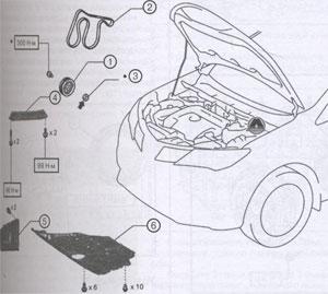 сальники коленвала Toyota Rav4