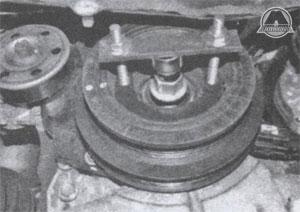 шкив коленвала Toyota Corolla