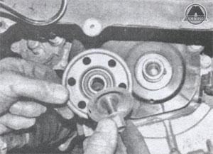 шкив ремня генератора Toyota Corolla