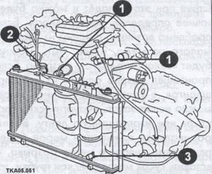 шланги радиатора Toyota Camry