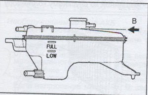 шланг радиатора Toyota RAV4