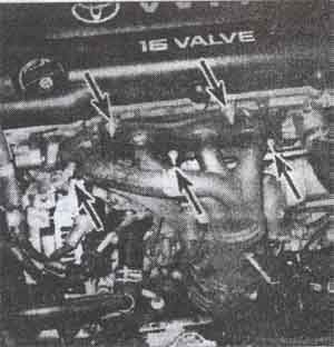 шланги жидкости Toyota Camry, шланги жидкости Toyota Avalon