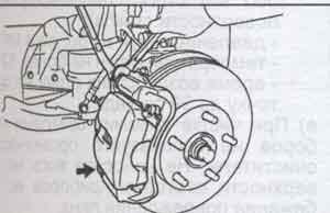 скоба суппорта Toyota Camry