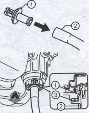 сливная трубка Toyota Venza