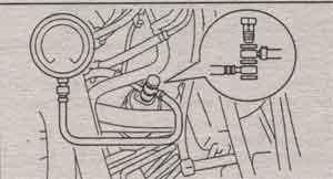 снятие топливного насоса Toyota Caldina