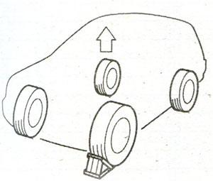 Стоячный тормоз Toyota Solara