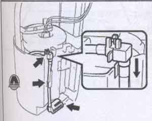 топливозаборник Toyota Prius
