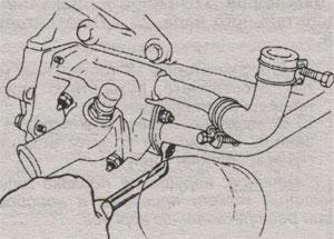 Трубка обогревателя Toyota Camry